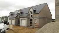 Chantier de 14 logements réalisé par Aubert menuiserie situé à Saint-Pierre du Bu
