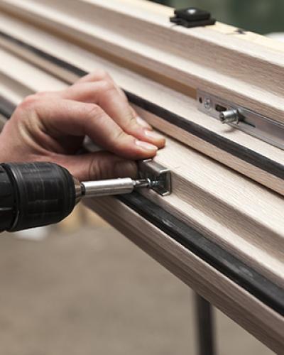 installation fenêtres bois Falaise